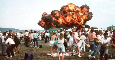 Katastroof lennunduspäeval Ramsteinis 1988