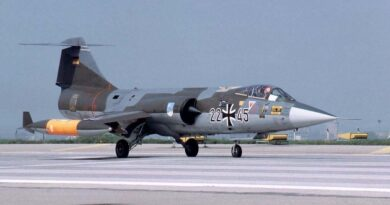 Saksa LV katastroofilennuk Starfighter
