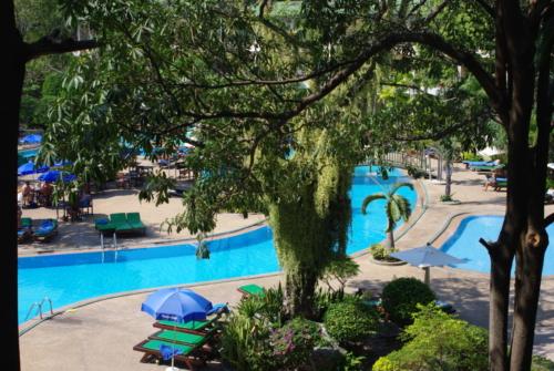 ©Mugav ja suure aiaga kolmekorruseline hotell Green Park Resort