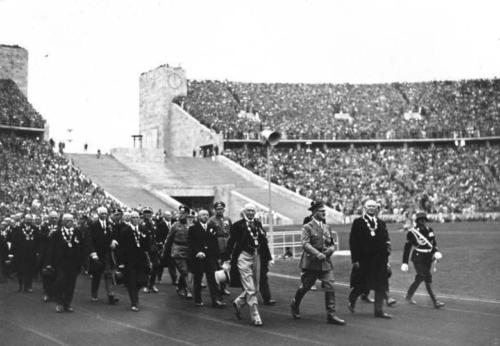 1-08-1936. Hitleri saabumine.