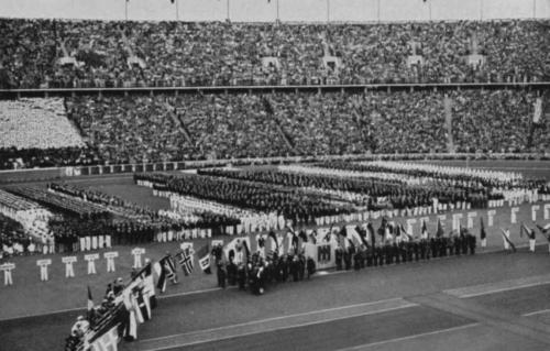 1-08-1936. Olümpiamängude avamine.