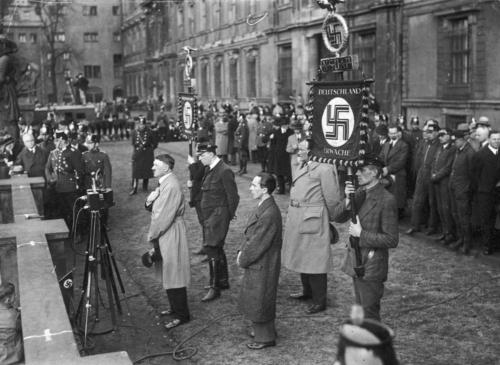 4. apr. 1932 Hitler peab valimiseelset kõnet Berliinis Lustgartenis
