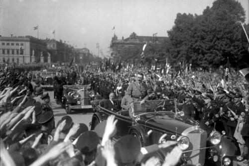 1. mai 1934. 1. mai miiting Berliinis Lustgartenis