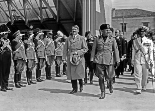 1934 06 14 - Hitler ja Mussolini Veneetsias