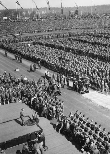 8. sept. 1934 Parteipäev Nürnbergis