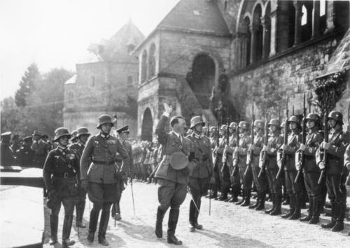 30. sept. 1934 Hitleri saabumine Tänupüha tähistamisele