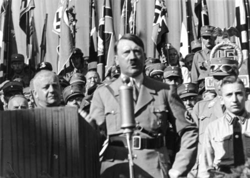 11. aug. 1935 Hitler Rosenheimis