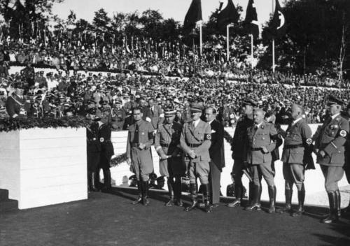 11. sept. 1935 Nürnbergi rallil