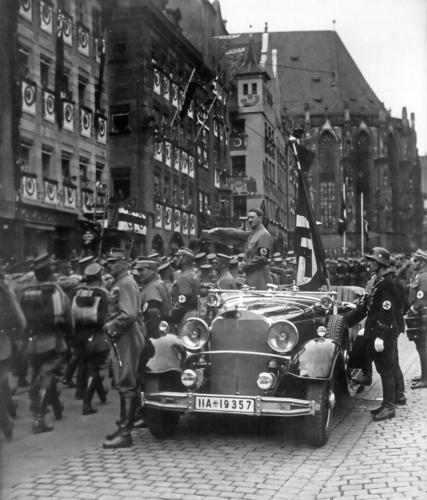 15. sept. 1935 SA paraad Nürnbergi parteipäevadel