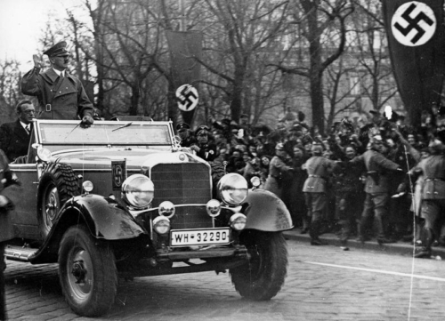 14. märts 1938 Teel Viini, Sankt Pölten