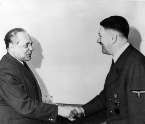 20. apr. 1942 Fotograaf Hofmann õnnitleb Hitlerit sünnipäeva puhul