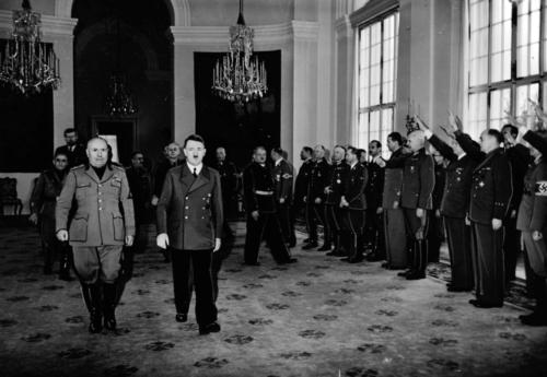 29. apr. 1942 Mussolini ja Hitler Klessheimi lossis