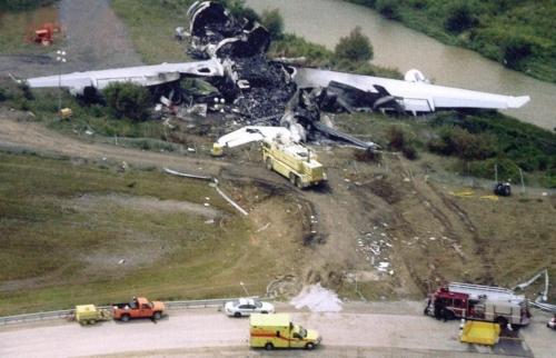 Air France A340 Toronto 09-08-2005