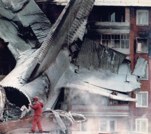 An 124 6-12-1997. Irkutsk