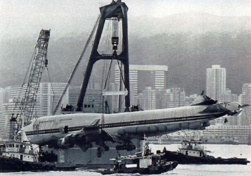Boeing 747 04-11-93-03. Hongkong