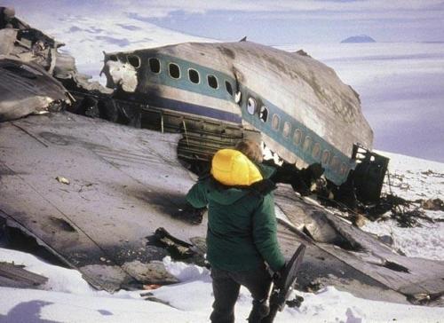 DC10 28-11-1979. Antarktika