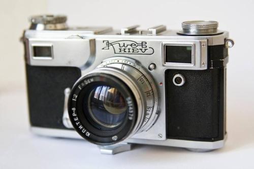 Fotoaparaat Kiev. Fotoaparaadid olid metallist ja igavesed.