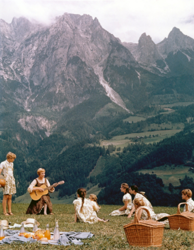 "Julie Andrews in ""Sound Of Music"", 20th Century Fox, Released March 2, 1965"