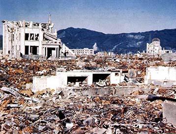 Hiroshima pärast tuumaplahvatust