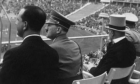 Hitler olümpiamängudel