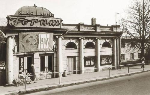 Kino Forum Narva mnt, lammutati enne 1980. aasta olümpiamänge