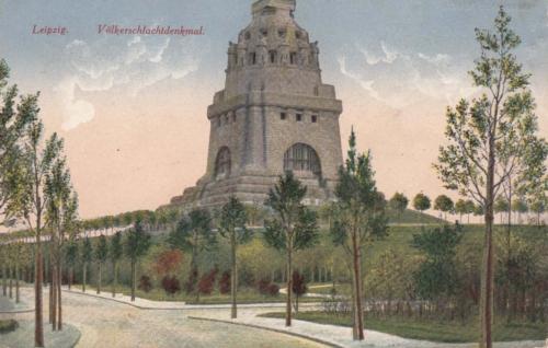Leipzig, Rahvastelahingu monument