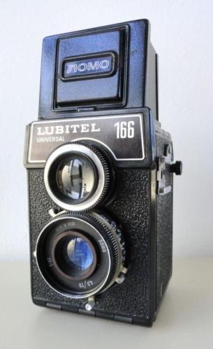 Fotoaparaat Ljubitel-166 kaadriga 6×6 cm