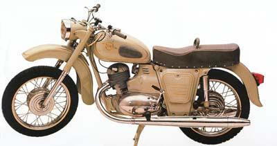 Nõukogude populaarseim mootorratas IŽ-Jupiter (18 hj) ilmus müügile 1965. aastal.