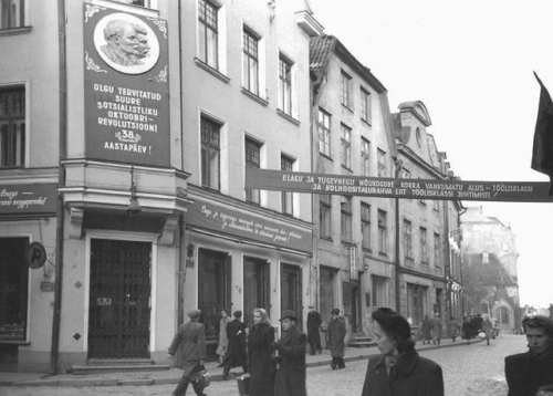 Pikk tänav 1955