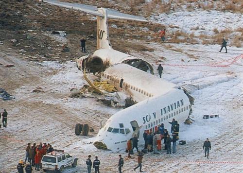 SAS DC-9 27-12-91. Stockholmi lähedal