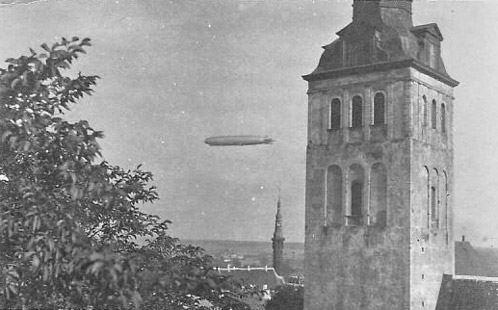 Saksa õhulaev Graf Zeppelin 25. juulil 1931 Tallinna kohal