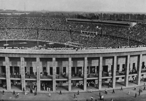 Olümpiastaadion.