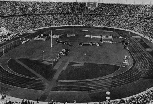 Olümpiastaadion. Vaade linnnulennult