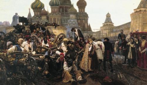 Surikov. Streltside hukkamine