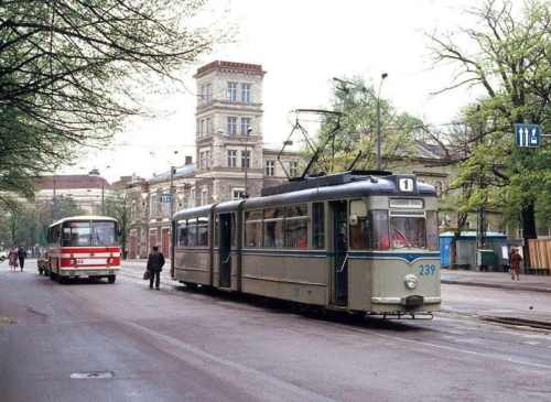 Tallinn. Merepuiestee trammipeatus
