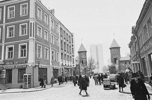Tallinn. Viru tänav