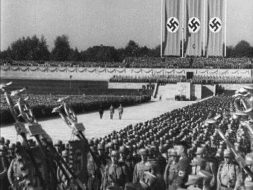 NSDAP parteipäevad Nürnbergis 5.–10 sept. 1934. Lõputud massid, lõputud paraadid, lõputud rongkäigud.