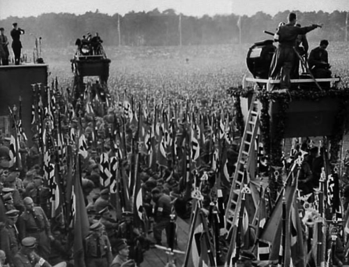 September 1934. Masside, füüreri kultuse  ja filmikunsti triumf.