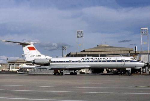 Tu-134A. Lennukipilet Tallinn-Simferoopol maksis 33 rbl, hiljem 37 rbl.