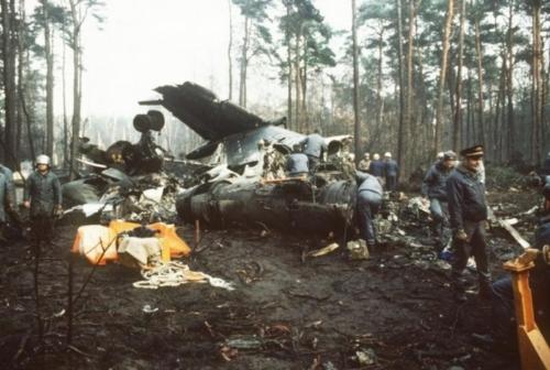 Tu134 12-12-1986. Berliini lähedal.