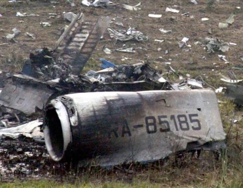 Tu154 22-08-2006 Donetsk
