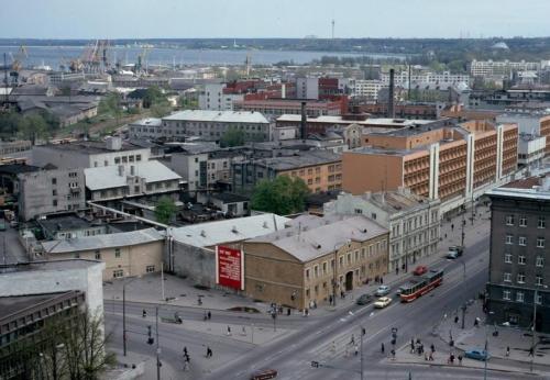 Vaade Narva mnt-le