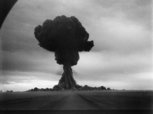 Vene esimese tuumapommi katestus.