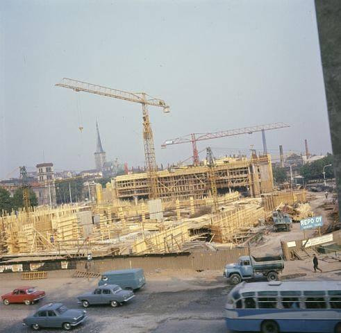 Viru hotelli ehitamine