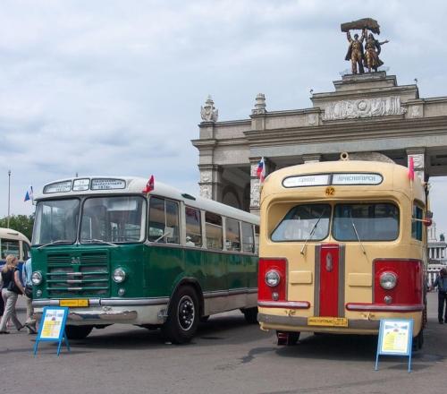 Bussid ZIL-158 ja ZIS-154