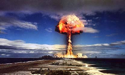 1970. Prantsuse tuumakatsetus